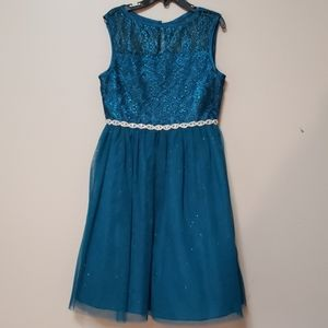 Girls lace and tulle dress